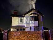 Ночной пожар на Троещине: почти полностью выгорел дом, есть пострадавший - фото 2