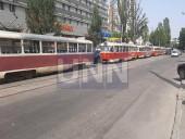 """Незначительное ДТП вызвало """"транспортный коллапс"""" на Подоле - фото 2"""