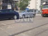 """Незначительное ДТП вызвало """"транспортный коллапс"""" на Подоле - фото 1"""