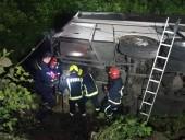 В Ровенской области ночью перевернулся пассажирский автобус - фото 2