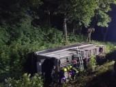 В Ровенской области ночью перевернулся пассажирский автобус - фото 3