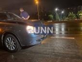 Ночная двойная авария в Киеве: грузовик влетел в легковушку - фото 1
