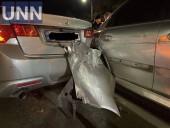 В Киеве пьяный водитель устроил двойную ДТП - фото 1