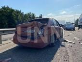 Неудачный маневр: на Житомирской трассе произошла масштабная ДТП с участием четырех легковых авто и бензовоза - фото 7