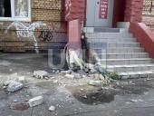 """Из-за столкновения автомобилей в столице - машины """"разбросало"""" в разные стороны - фото 4"""