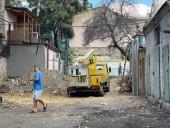 В центре Одессы началось самовольное строительство жилого дома - фото 1