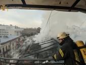 Пожар в доме в центре Киева: сгорело 200 кв. м, жертв нет - фото 8