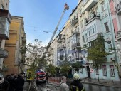 Пожар в доме в центре Киева: сгорело 200 кв. м, жертв нет - фото 6