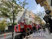 Пожар в доме в центре Киева: сгорело 200 кв. м, жертв нет - фото 4
