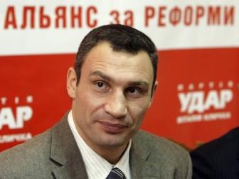 В.Кличко пояснив, чому не приходив на акції опозиції