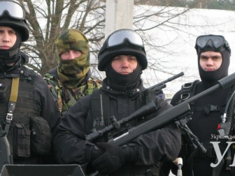 Ukrainian police struck UN representatives levels of training