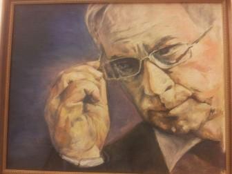 Один з користувачів Facebook вирішив подарувати М.Азарову портрет