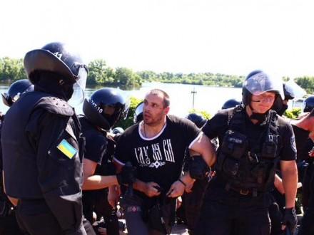 """""""Марш равенства"""" в Киеве завершился: трое правоохранителей получили ранения, 10 нападающих задержаны"""