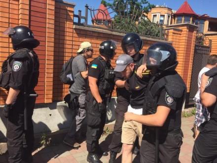 """""""Марш равенства"""" атаковали 20 человек, милиция задержала двух нападающих - журналист"""