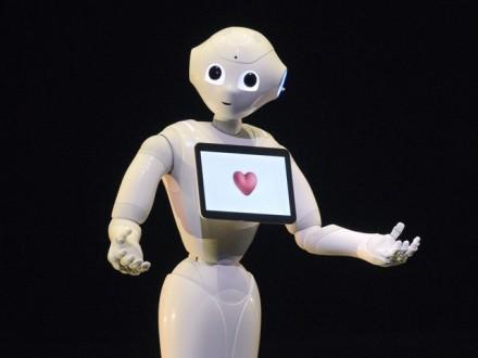 """Японці представили першого у світі """"емоційного"""" робота"""