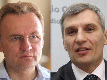 Офіційні результати першого туру виборів уЛьвові
