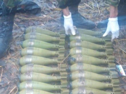 НаСумщині знайшли три пакети з мінами
