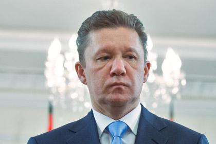 Міллер: Передоплати загаз вистачить Україні напару днів