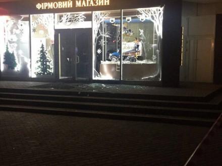Вибух магазину Roshen вХаркові. Прокуратура відкрила справу про умисне пошкодження майна