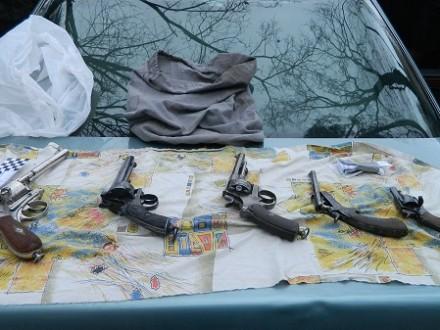 УКиєві затримали торговців зброєю
