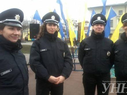УХмельницькому склали присягу нові патрульні