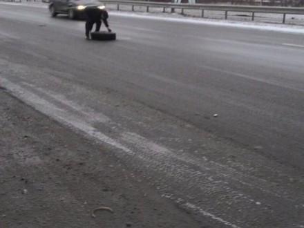 УЛьвові від маршрутного автобуса втекло колесо