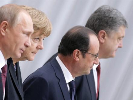 «Нормандська четвірка» перенесла виконання Мінських домовленостей нанаступний рік— Кремль