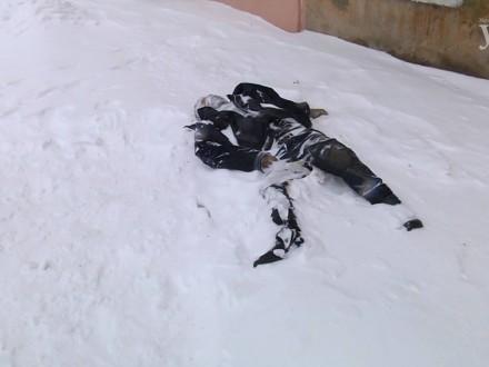 ВОдесі навулиці замерзли двоє людей