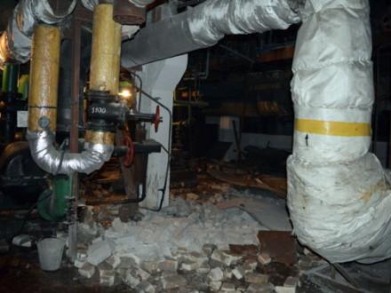 ВДимитрове абонентов котельной, где произошел взрыв, перевели нарезервное отопление