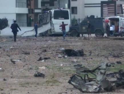 В результате взрыва в Турции ранены три человека
