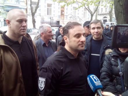Блокада прокуратуры Одесской области прекращена довечера