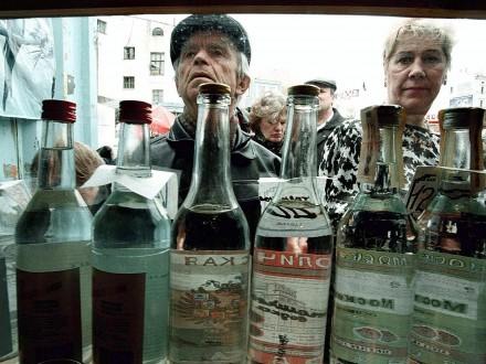 Цены на алкоголь в Украине за год выросли более чем на 20