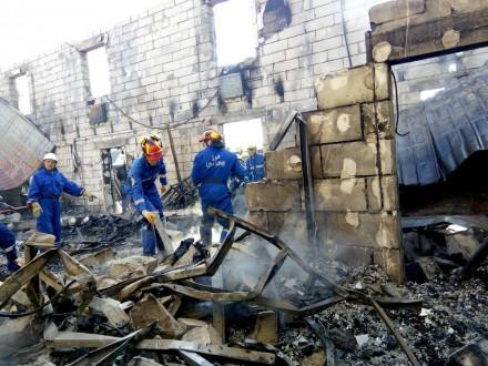 Часть спасенных граждан  пансиона вЛиточках перевезли вВышгород