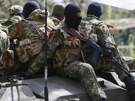 Засутки наДонбассе ранены пятеро военных,— АП