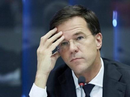 Премьер Нидерландов назвал «провальным» референдум поУкраине