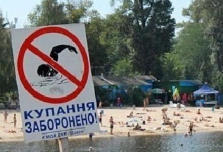купание и ловля рыбы запрещены