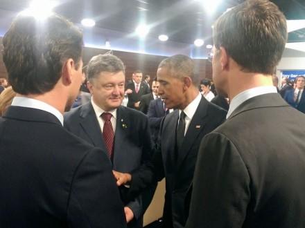 Саммит НАТО вВаршаве: Порошенко встретился сОбамой