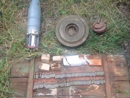 СБУ виявило схованку з боєприпасами для підриву траси на Донбасі