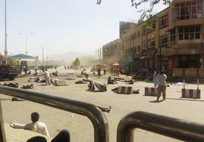 Ответственность завзрыв вКабуле взяло насебя «Исламское государство»