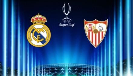 Названы стартовые составы «Реала» и«Севильи» наматч заСуперкубок УЕФА