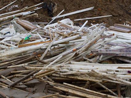 Нікопольські стихійні полігони небезпечних відходів загрожують життю людей - О.Тихон