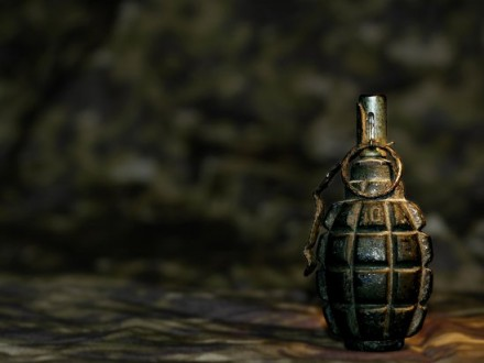 Водвор запорожского дома бросили гранату