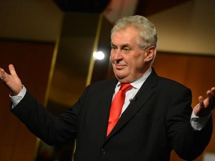 Президент Чехии выступил заотмену санкций противРФ