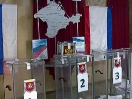 Киев просит украинцев, живущих вКрыму, проигнорировать выборы вГосдуму