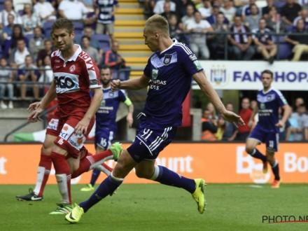 Теодорчик забил пятый гол в 6-ти матчах за«Андерлехт»