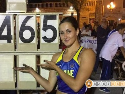 Марина Килипко побила 12-летний рекорд Украинского государства попрыжкам сшестом
