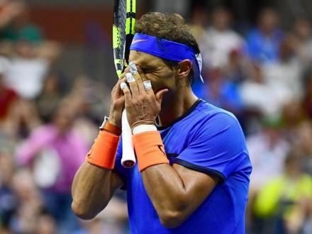 Теннис: Француз Пуи выбил Надаля сUS Open