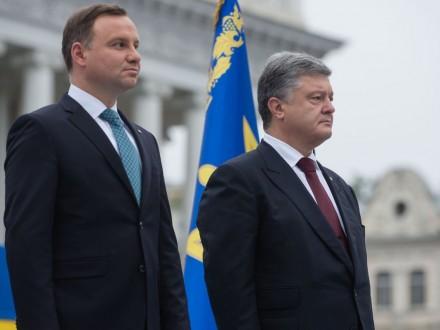 Дуда иПорошенко будут искать общих для Украины иПольши героев