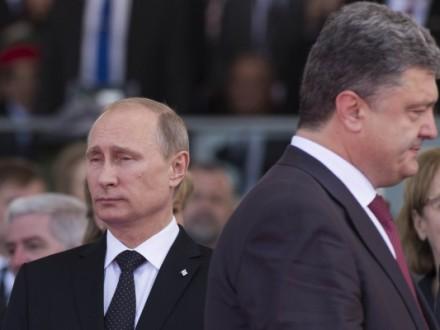 Песков объявил, что Путин пока непланирует встречаться сПорошенко