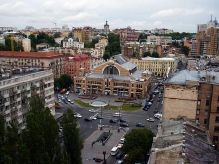 Бессарабскую площадь вКиеве всостоянии сделать пешеходной
